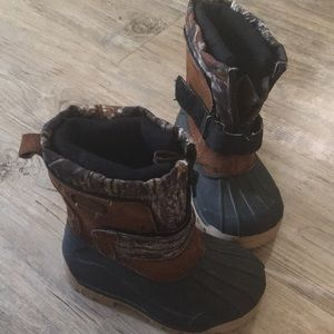 Toddler camp winter boots